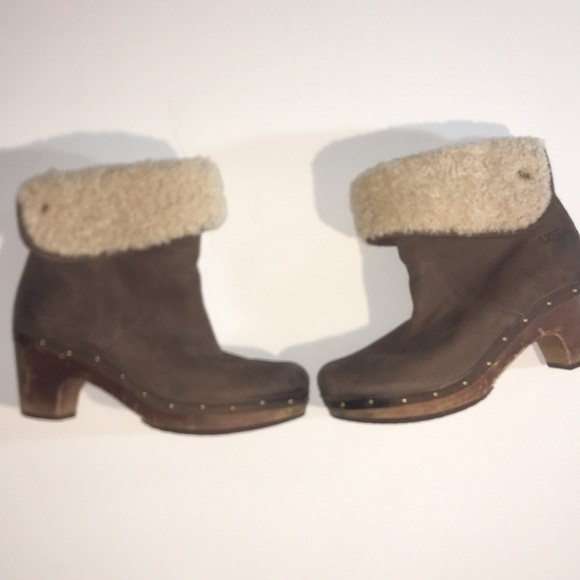 be6ce412f1f Uggs Sherpa lined Booties with fold down feature 8